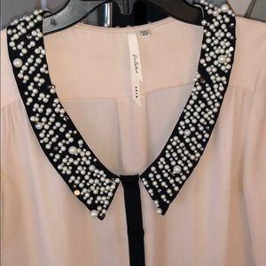 Bellatrix blush pink embellished blouse